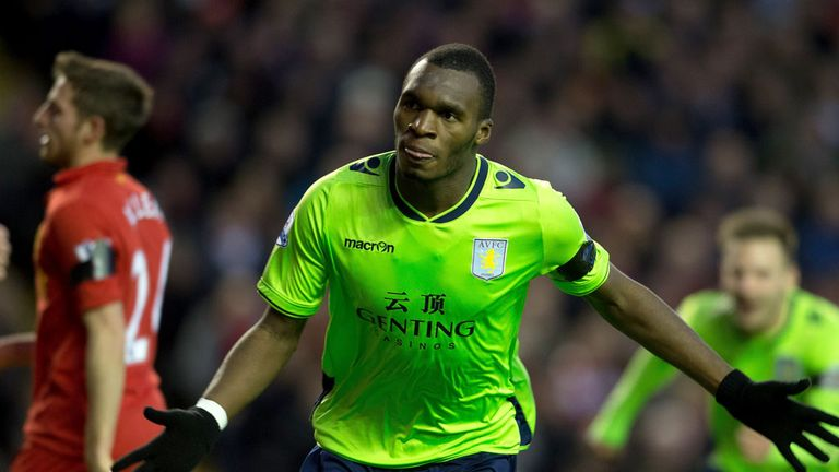 Christian Benteke: Has caught the eye during his debut season in England
