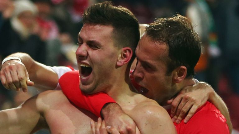 Adam Szalai netted Mainz's late winner