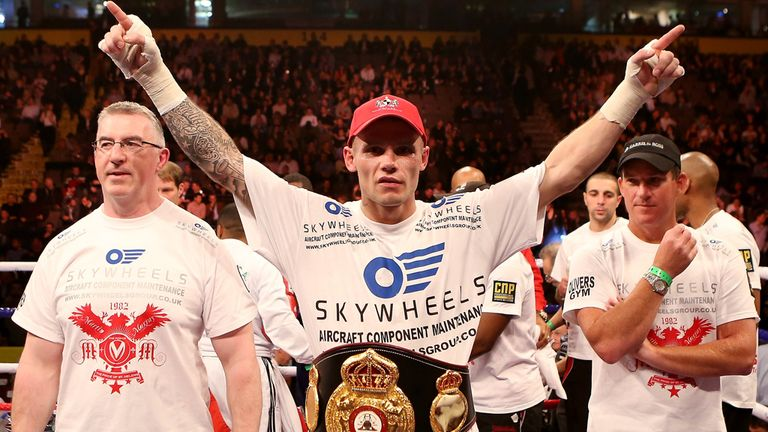 Martin Murray: Will face WBC champion Sergio Martinez in Argentina on April 27