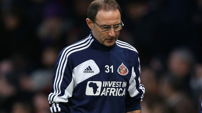 Martin O'Neill: Hoping to bolster his ranks when the transfer window re-opens