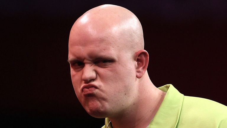 Michael van Gerwen: Defied foot injury to beat Colin Lloyd