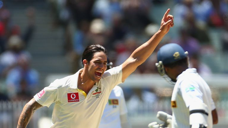 Mitchell Johnson: Man-of-the-match in Melbourne
