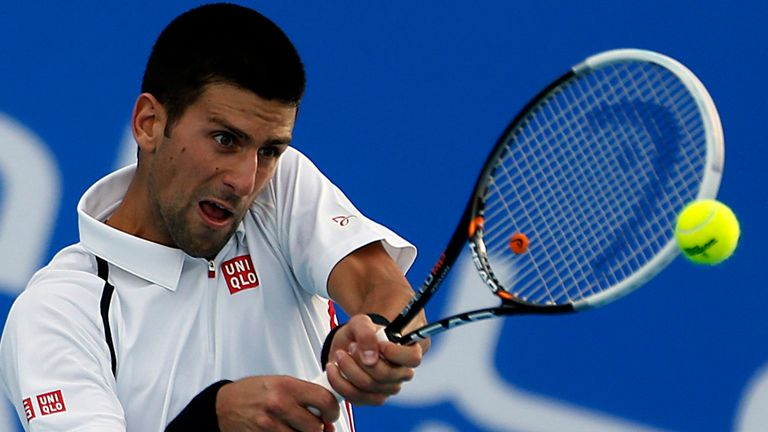Novak Djokovic: Impressive form in Abu Dhabi