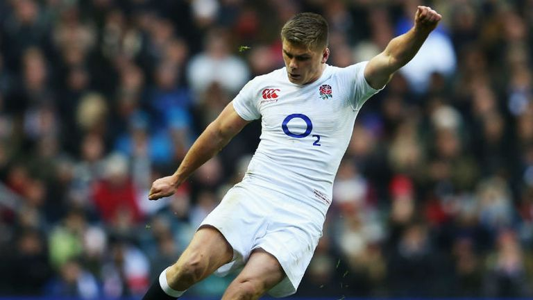 Owen Farrell: Believes England can beat anybody on their day