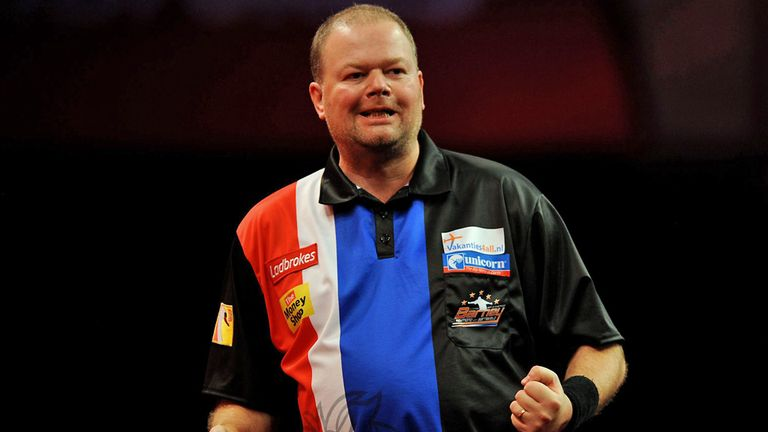 Raymond van Barneveld: Averaged over 108 as he raced to victory over Michael Smith