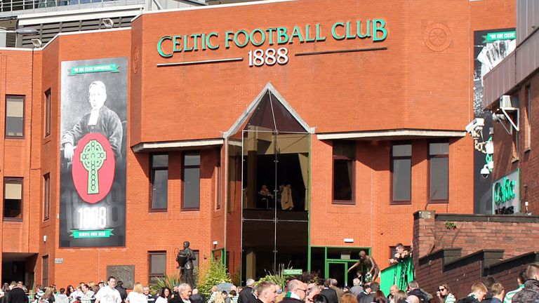 Celtic have broken their silence on the decision to fine Rangers Oldco