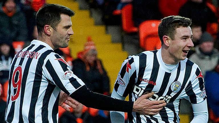 Paul Dummet (r): Offered new deal by Newcastle but the subject of several clubs' interest after St Mirren loan spell