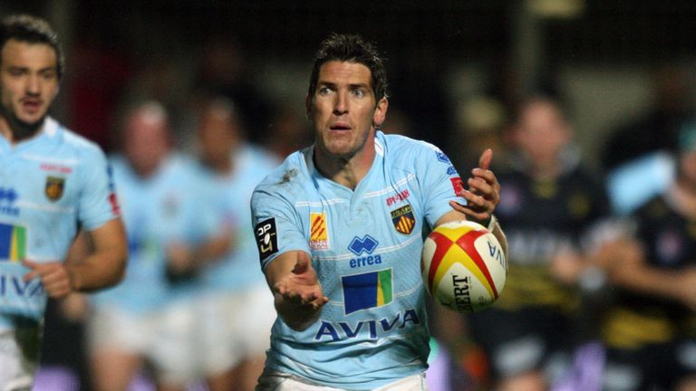 James Hook: scored 20 points for Perpignan