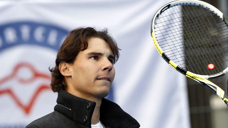 Rafa Nadal: To feature in the VTR Open in Chile next month