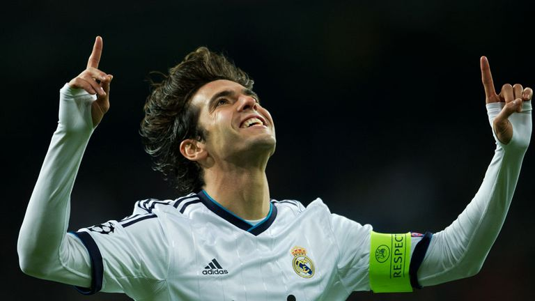 Kaka: The Brazilian has three years left on his contract at Real