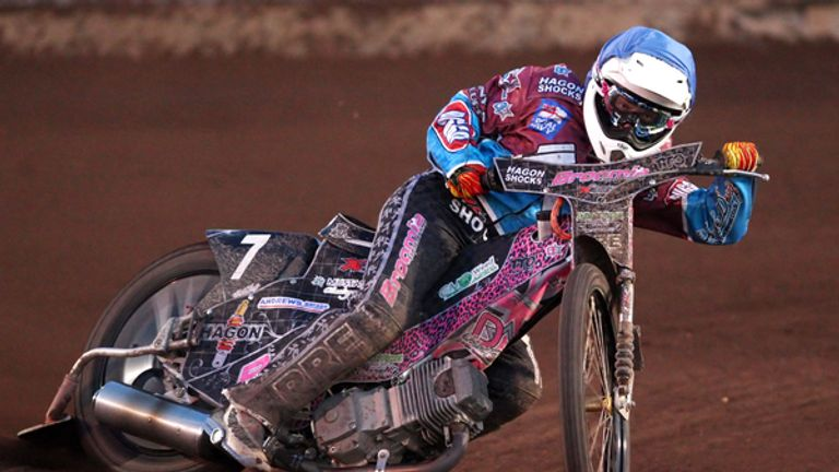 Richie Worrall: Big maximum for King's Lynn (Pic credit Rob Newell/TGSPHOTO)