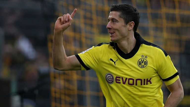 Robert Lewandowski: Linked with a move to Bayern Munich