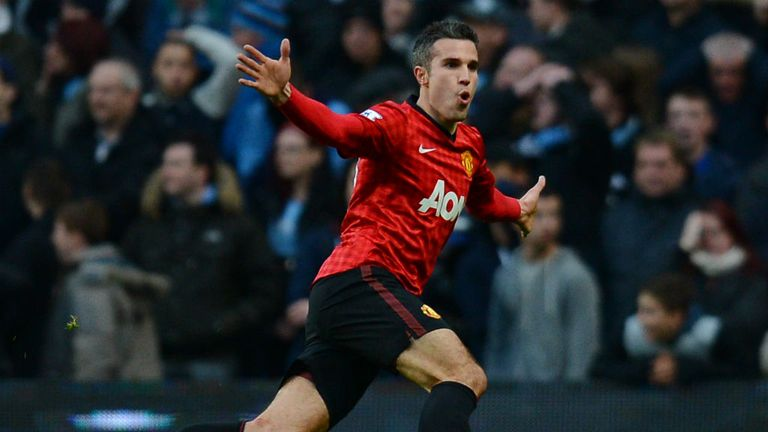 Robin van Persie: can net again for United