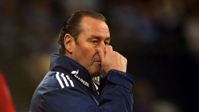Huub Stevens: Sacked by Schalke following loss to Freiburg