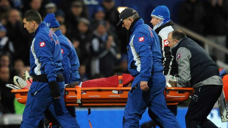 Stephane Mbia: Has allayed fears over his neck injury