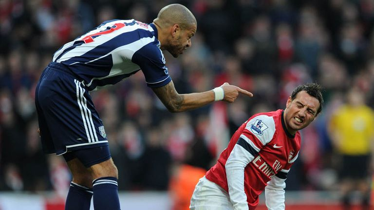 Steven Reid: Was not happy with Cazorla