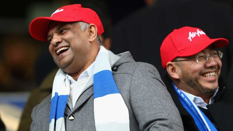 Tony Fernandes: In the stands for QPR's first win of season