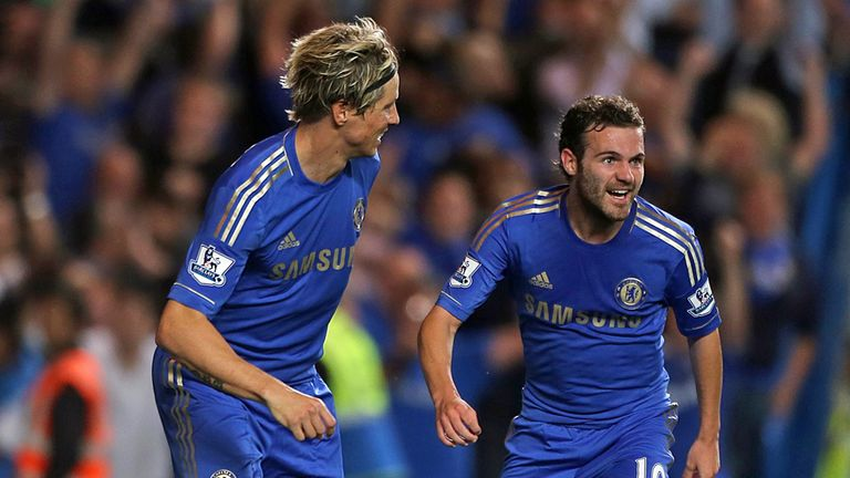 Fernando Torres and Juan Mata may miss Chelsea's opening game