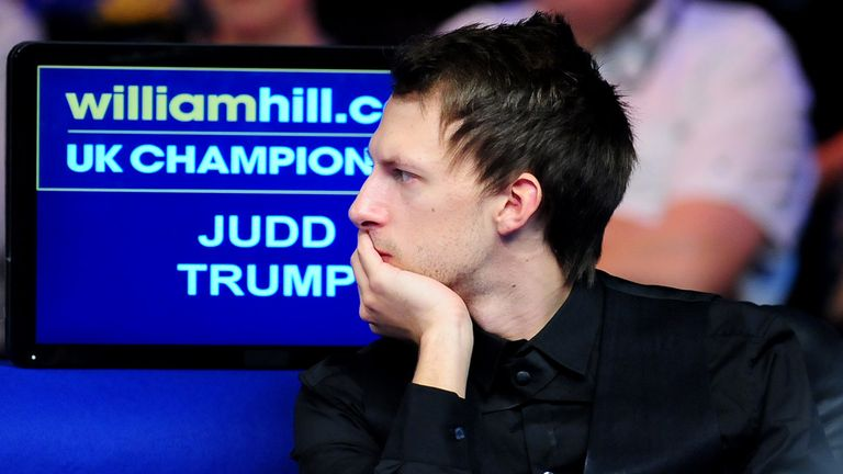 Judd Trump: Sent home after losing the last four frames to Mark Joyce
