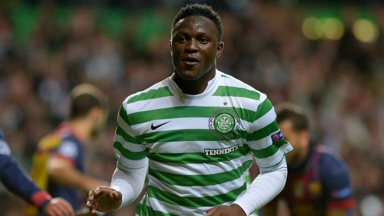 Victor Wanyama: Manchester City boss watched Celtic midfielder on Tuesday