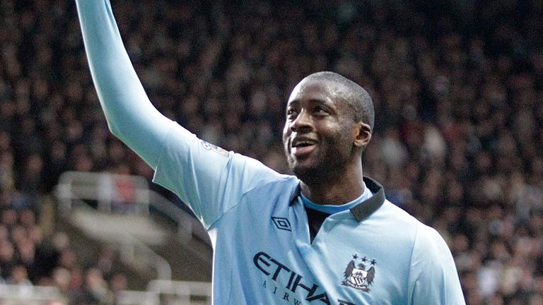 Yaya Toure: A key figure in Manchester City's title win.