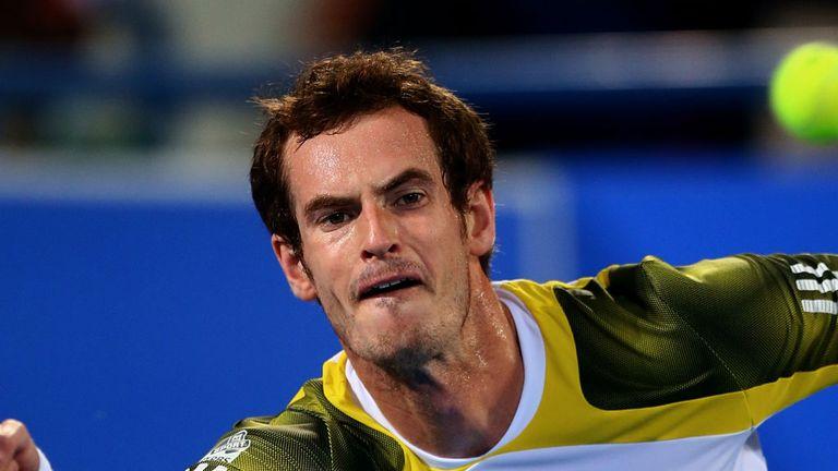 Andy Murray felt the heat in Abu Dhabi