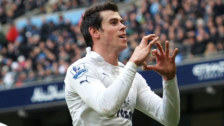 Gareth Bale: Four bookings for diving in 2012