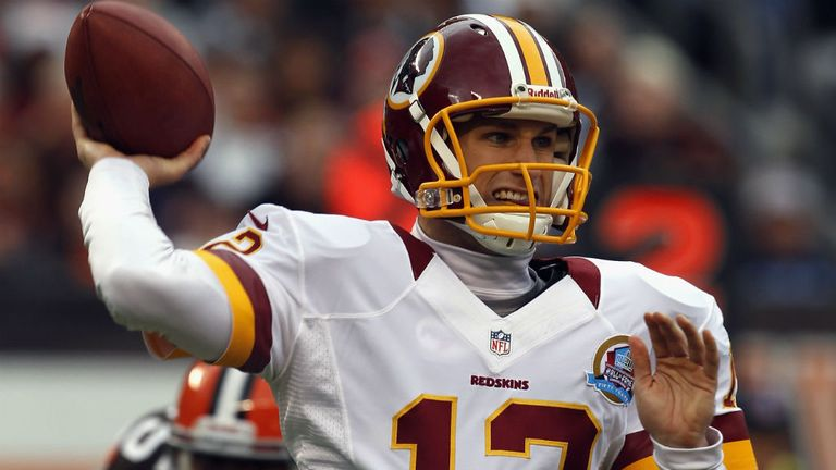 Kirk Cousins: made sure the Washington Redskins didn't slip up without Robert Griffin III