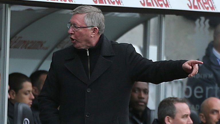 Sir Alex Ferguson: Not quitting the United dug-out in the near future