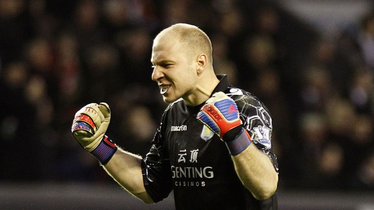 Brad Guzan: Looking for Aston Villa to scrap their way to safety