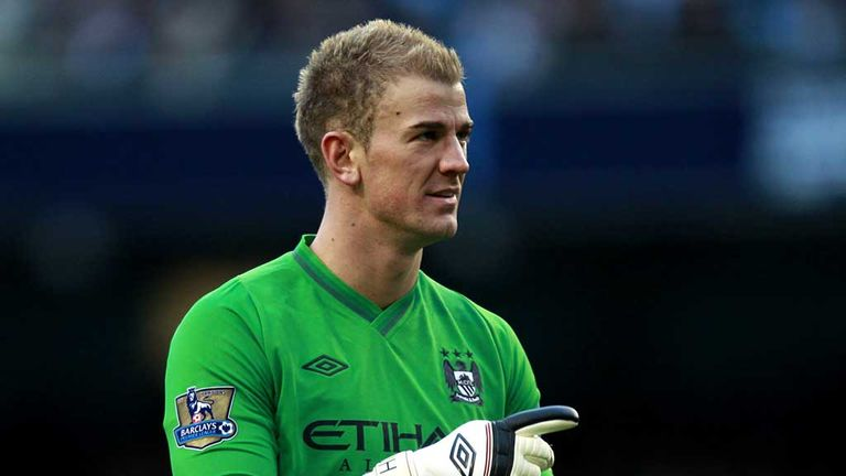 Joe Hart: Disappointed to lose ground on Man Utd but staying positive