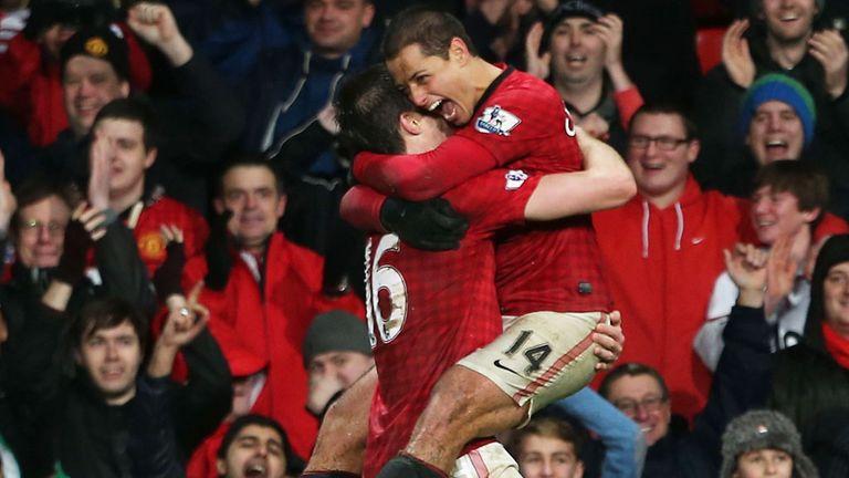 Javier Hernandez: String of late winners this season