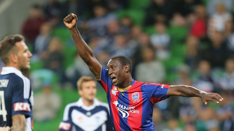 Emile Heskey: Has signed a new deal with Newcastle Jets