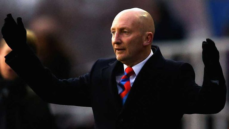 Ian Holloway: Felt his Palace side let it slip in their narrow defeat at Cardiff