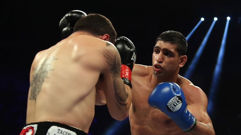 Amir Khan: Will make his comeback against Julio Diaz on April 27