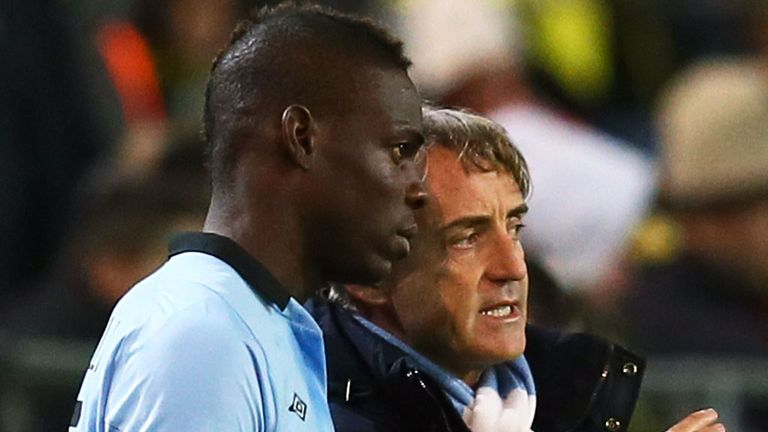 Mario Balotelli: Has been told to clean up his act by manager Mancini