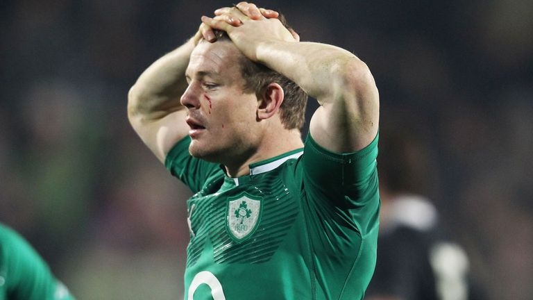 Brian O'Driscoll: Fitness boost for Ireland