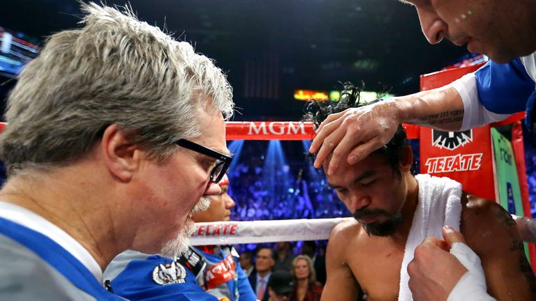 Pacquiao: Suffered knockout defeat to Marquez last weekend