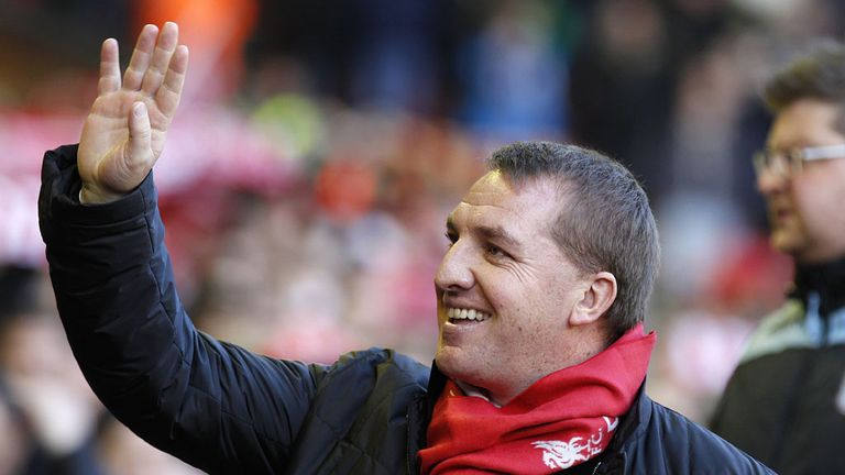 Brendan Rodgers: Has enjoyed a positive first season at Liverpool