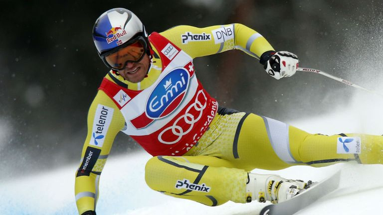 Aksel Lund Svindal: Clinched his fourth World Cup super-G title on Sunday