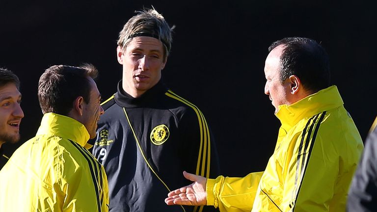 Fernando Torres: The Spanish striker seems revitalized by the recent arrival of Rafa Benitez