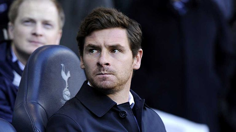 Andre Villas-Boas: Happy with the current Tottenham squad