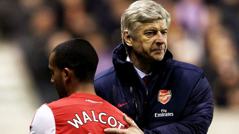 Arsene Wenger: Pleased with Theo Walcott