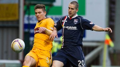 Shaun Hutchinson: Urged to stay at Motherwell by boss Stuart McCall