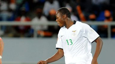 Stoppila Sunzu: Zambia international training with Sunderland