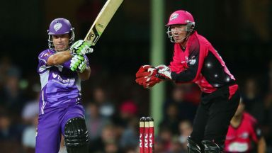 Ricky Ponting: Hobart number three finished on 63 not out