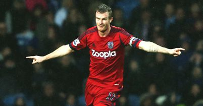 Chris Brunt: Fired West Brom in front at Loftus Road
