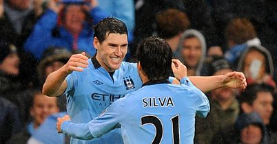 Gareth Barry: On target with last-gasp winner for City
