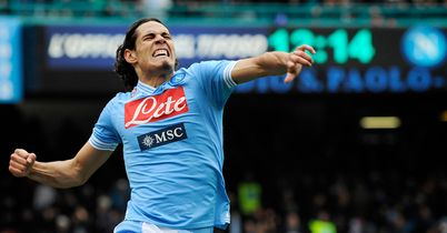 Edinson Cavani: Scored twice in Napoli win