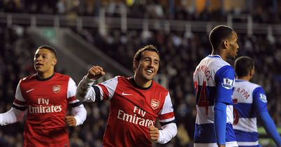 Santi Cazorla: Scored a hat-trick for Arsenal